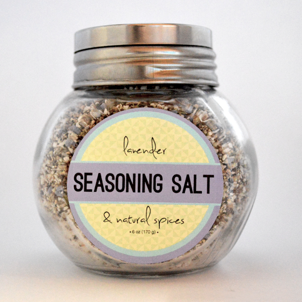 Lavender Seasoning Salt